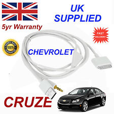 CHEVROLET CRUZE OX0467904 For Apple 3GS 4 4S iPhone iPod USB & Aux Audio Cable w