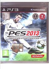 PS3 PES2013 pro evolution soccer 2013 Pes 2013  - Nuovo !
