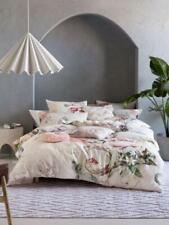 new sansa quilt cover cotton queen linen house floral pink beige pastal vintage