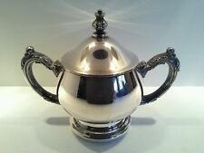 Vintage Oneida USA Silverplated Sugar Bowl