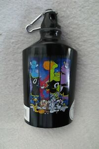spane Jam Looney Tunes Warner Bros Aluminum Water /Flask With Clip New