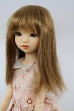 Monique Misty Wig Brownish Red color Size 8-9 shown on Msd Hannah by My Meadow