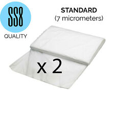 2Pc 16x13ft Large Decorating Dust Sheet High Quality Waterproof Furniture Cover