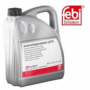 febi 30017 Automatic Transmission Fluid 5 Litre (ATF) For Mercedes 000 989 92 03