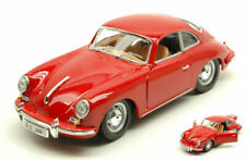 Porsche 356 B Coupe' 1961 Red 1:24 Model 22079R BBURAGO