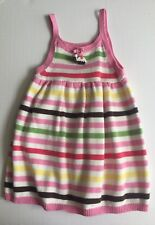 GYMBOREE DRESS 3T TEA FOR TWO VINTAGE STRIPED BIRTHDAY Spring Outfit
