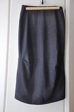 Belle jupe longue LILITH 38 lin & laine