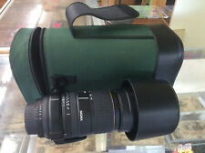Sigma 170-500mm f/5-6.3 APO AF Lens Minolta Sony W/ Soft Case! Tested! Works!