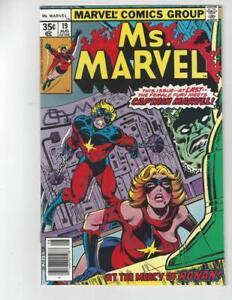 Ms. Marvel #19/Bronze Age Marvel Comic Book/Origin Retold/NM