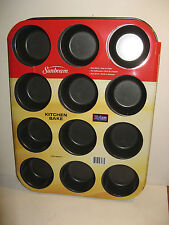 Muffin/Cupcake Pan from Sunbeam. Non Stick. Holds 12 Muffins or Cupcakes. New.