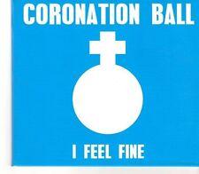 (GC412) Coronation Ball, I Feel Fine  - 2014 DJ CD