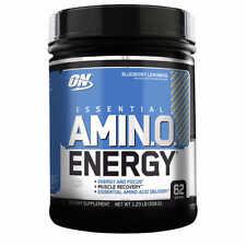 OPTIMUM NUTRITION AMINO ENERGY 558g 62 SERVINGS VALUE SIZE BEST PRICE FREE P&P