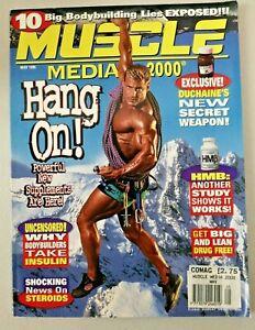 Vintage Muscle Media 2000 Bodybuilding Magazine May 1996