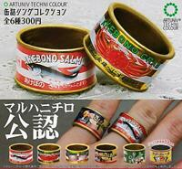 (Capsule toy) Canned foods ring collection Maruha [all 6 sets (Full comp)]