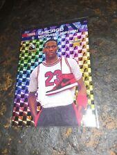 Michael Jordan 1985 Fierce prism!! 1 of 1,000 made. Mint +