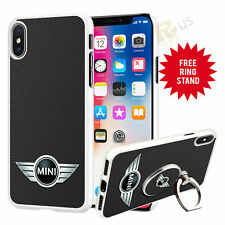 Mini V2 Car Phone Case Cover & Finger Ring Stand For Top Mobiles 041-7