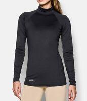 Under Armour 1244396 Women's ColdGear Infrared Tactical Mock Shirt Winter
