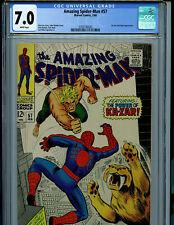 Amazing Spider-man #57 CGC 7.0 Marvel Comics 1968 Ka-zar Amricons K9