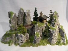 Diorama Bergkapelle H0 Modell Bergweltserie Top patiniert