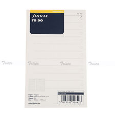 Filofax Personal Size To Do Notepaper Refill Insert Organiser-132204 20 sheets