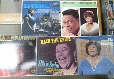 Ella Fitzgerald LP x 5 Gershwin, World Of, In Berlin, Hollywood, Nat King Cole