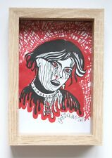 Nancy You Witch - Gobbolino 2017 Pen Ink Framed Print Modern Art Fashion Gothic