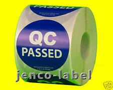 "IC2044B, 500 2"" dia QC Passed Label/Sticker"