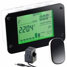 Wattmeter: Funk-Energiekostenmesser für Sicherungskasten, mit 16-mm-Sensorklemme
