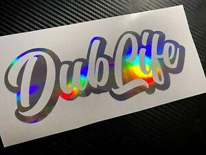 OIL SLICK Dub Life Car Sticker Decal VDUB VAG VEEDUB BUG BUS Gti