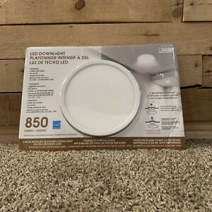 Feit Electric LED Downlight 800 Lumens 6in Recessed Can 8.8w 2700k 800 Lumens