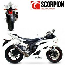 SILENCIEUX POT ECHAPPEMENT SCORPION RP1-GP CARBONE YAMAHA YZF R6 2006-2017