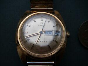 Vintage 1970's Timex Q Watch mens watch - fully working & on flex strap