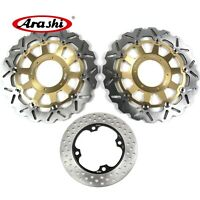 Front & Rear Brake Disc Rotors For Honda CBR954RR CBR 954RR CBR 954 RR 02-03 G