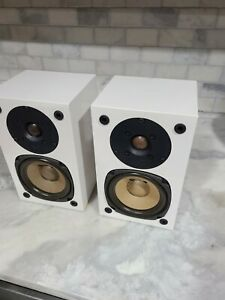 NHT (Now Hear This) Super Zero speakers with mounting brackets