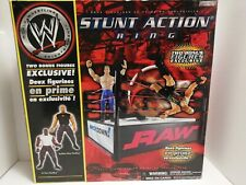 WWE Stunt Action Ring - Bubba Ray Dudley & D-Von Dudley Figure Set boxed