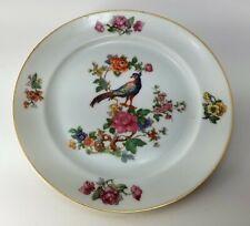 Epiag Royal Pheasant Salad Dessert Plate Czechoslovakia Bone China 1906