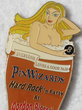 PINWIZARDS **LAS VEGAS**PARTY NAKED GIRL BOTTLE OPENER MAGNET + FREE HRC PIN !!!