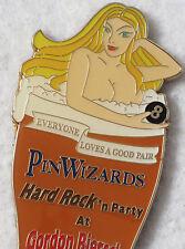 PINWIZARDS ***LAS VEGAS*** PIN TRADER PARTY NAKED GIRL BOTTLE OPENER MAGNET!!