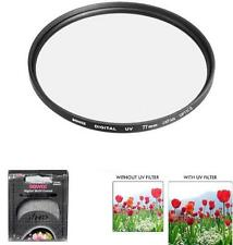 Bower 77mm Digital High Definition UV Filter for Nikon Coolpix P1000 Camera