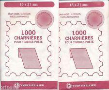 5000 charnières pour timbres poste - 5 paquets de 1000 charnières