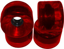 76mm Longboard Skateboard Wheels RED Glider CRUISER 78a