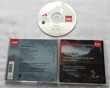 SCHUBERT Choeurs profanes SAWALLISCH/BEHRENS/SCHREIR...FRENCH CD EMI (2003) MINT
