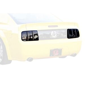 Fits 05-09 Mustang V6 GT Shelby Bullit GTS Smoke Acrylic Taillight Covers GT4141