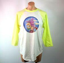 "Vtg 70s 1975 Hal Roach Artist ""Fly"" Baseball Style 3/4 T-Shirt Xl Single Stitch"