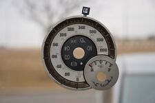2013 DODGE RAM LARAMIE LONGHORN 3D GAS -  GAUGE OVERLAY/ FACEPLATE  KM/ H