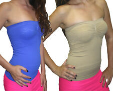 Sexiest Strapless  Bust Tube Top Free Size Fits(S,M.L) FREE SHIPPING Style 1722