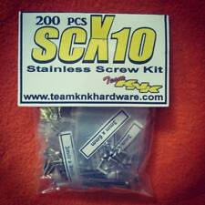 SCX10 Stainless Steel Hardware Kit Team KNK Hardware axial honcho deadbolt dingo