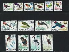 Malawi SC95-109 Beautiful Birds MNH 1968