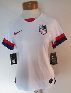 NWT Nike USA 2019 Alex Morgan #13 Womens Stadium Home Soccer Jersey S White $120