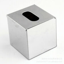 Top Chrome Colour Tissue Container Box Napkin Holder Cover Hotel Bedroom